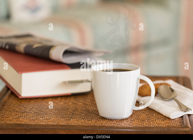 Kaffee-Zeit Pause Stockbild