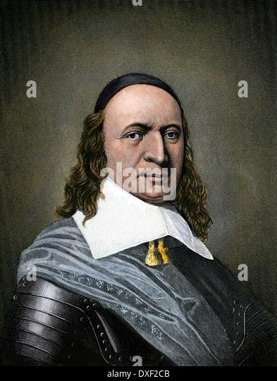 Peter Stuyvesant, niederländischer Kolonialbeamter Nieuw Nederland. Stockbild