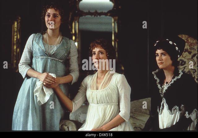 SINN UND SINNLICHKEIT (UNS / GROßBRITANNIEN 1995) KATE WINSLET, EMMA THOMPS Stockbild