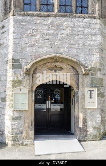 Haubenrestaurant Gerber in der Barbican Gegend von Plymouth, Devon Stockbild