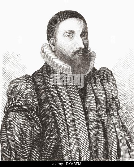 Patrick Forbes, 1564 ? 1635. Späten 16. und frühen 17. Jahrhundert schottischer Geistlicher und Bischof Stockbild