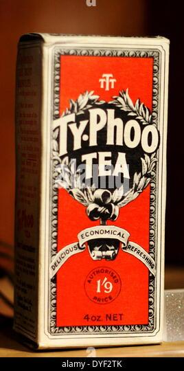 Vintage Box Typhoo Tee. Stockbild