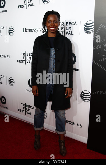 """Schauspielerin Adepero Oduye besucht die Weltpremiere von """"Zeit ist Illmatic"""" die 2014 TriBeCa Film Festival Stockbild"""