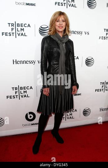 """Schauspielerin Christine Lahti besucht die Weltpremiere von """"Zeit ist Illmatic"""" die 2014 TriBeCa Film Stockbild"""