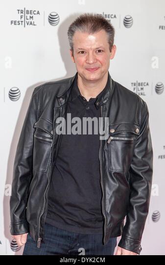 "New York, NY, USA - 19. April 2014: Komiker Jim Norton besucht Tribeca Gespräche: nach dem Film: ""Champs"" Stockbild"