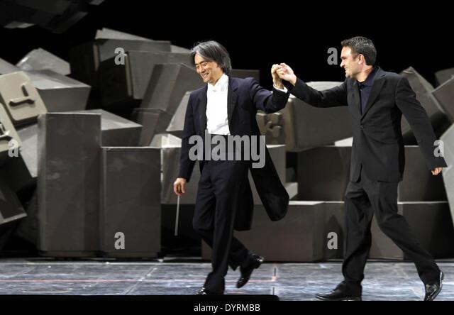 """Weltpremiere von """"Babylon"""" National Theater in München 2012 Stockbild"""