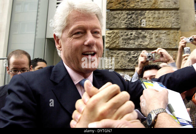 William Jefferson Clinton Stockbild