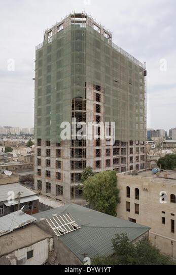 Straßenbild Baku Stockbild