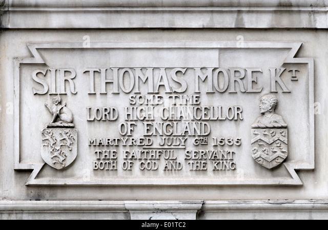 London, England, Vereinigtes Königreich. Thomas More Kammern, 51 Carey Street. Detail der Fassade Stockbild