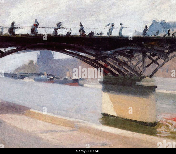 Edward Hopper Le Pont des Arts Stockbild