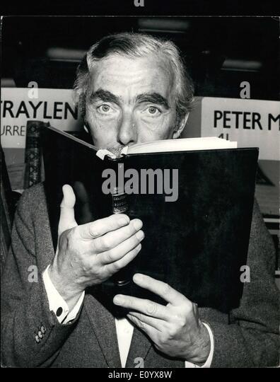 Sept. 09, 1971 - der 4. International Antiquarian Book Fair öffnet im Europa Hotel. Die 4. International Antiquarian Stockbild