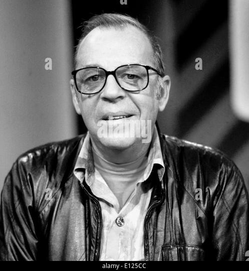 CHRIS HOWLAND, britischer Schlagersänger in den 1950er/1960er Jahre, Schauspieler in deutschen Filmen und beliebten Stockbild