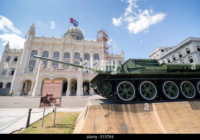 Museum der Revolution. Havanna-Kuba Stockbild