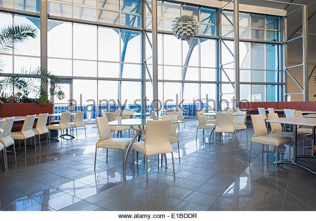 Moderne Büro-Kantine Stockbild