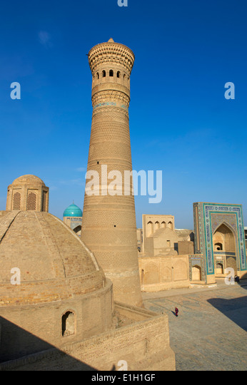 Usbekistan, Buchara, UNESCO-Welterbe, Kalon Moschee Stockbild