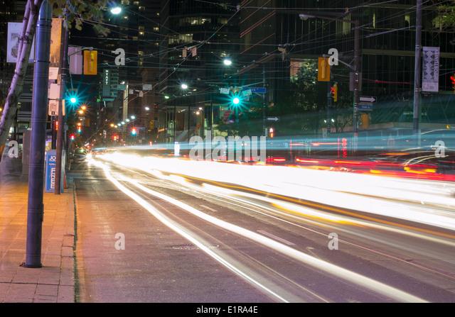 Toronto, Downtown-Szene Stockbild