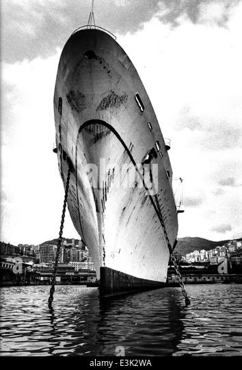 SS-Raffaello war eine italienische Ozeandampfer errichtet in den frühen 1960er Jahren für italienische - Stock-Bilder