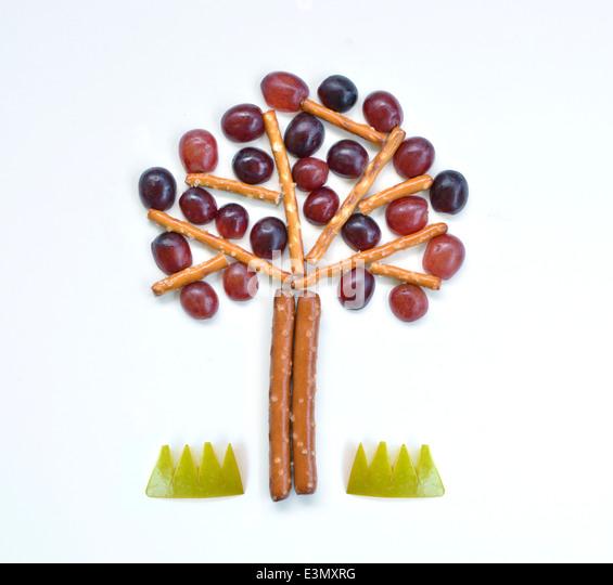Baum essen Kunst Stockbild