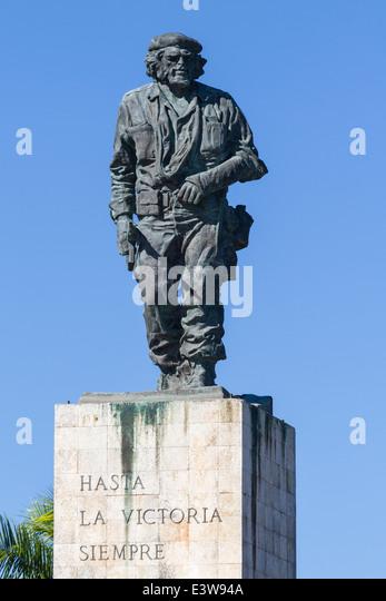 Cuba-Santa Clara, Che Guevara mausoleum Stockbild