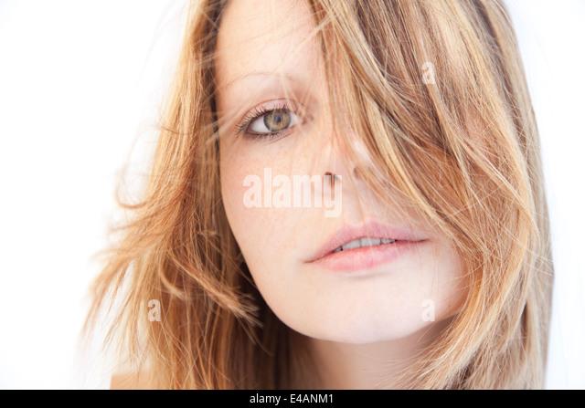 Schöne Frau Portrait Stockbild