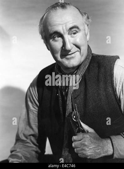 "Donald Crisp, Werbung Portrait, am Set des Films ""Wie grün ist mein Tal"", 1941 Stockbild"
