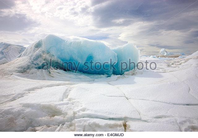 Eis-Bildung, Devil Island, Antarktis - Stock-Bilder