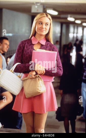 DIE BRADY Bündel Film 1995 Paramount Pictures-Film mit Christine Taylor als Marcia Stockbild