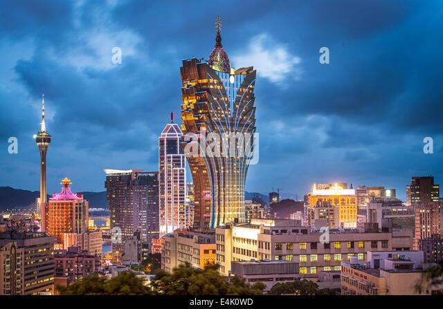 Macao, China Stadt Skyline. Stockbild