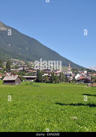 Fulpmes Im Stubaital, Tirol, Österreich Stockbild