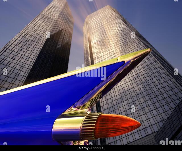 DE - FRANKFURT: Deutsche Bank Zentrale Stockbild