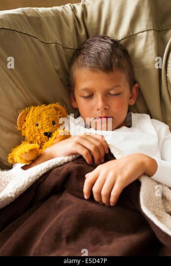 schlafendes Kind Stockbild
