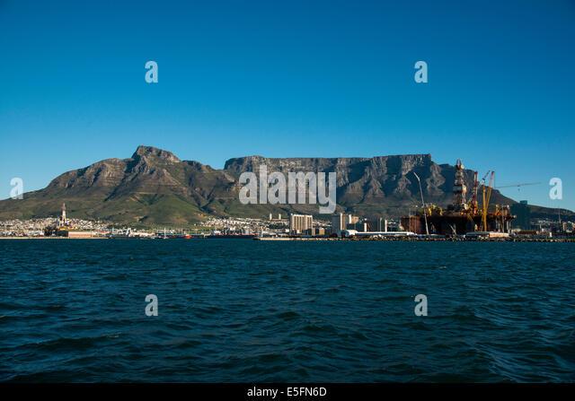 Tafelberg, Kapstadt, Western Cape, Südafrika Stockbild