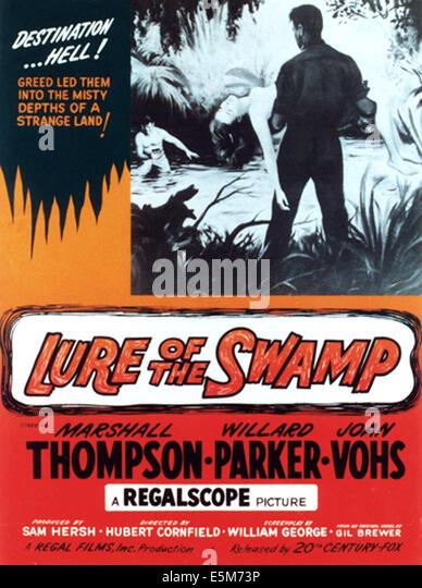 LURE THE SWAMP, 1957, TM & Copyright © 20th Century Fox Film Corp./Courtesy Everett Collection Stockbild