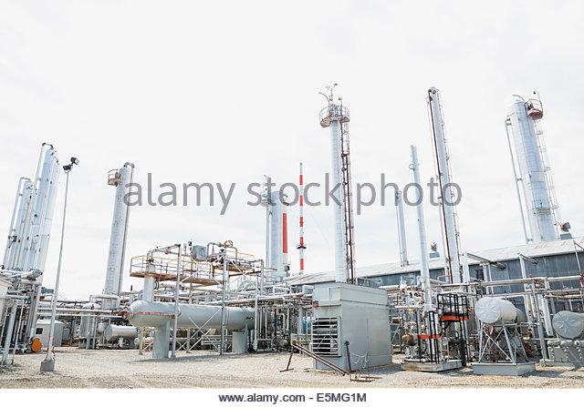 Gas-Anlage Stockbild
