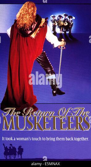 DIE Rückkehr der die Musketiere, 1989, © Universal/Courtesy Everett Collection Stockbild