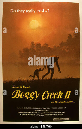 BOGGY CREEK II: Und THE LEGEND CONTINUES, 1985, © Howco International/Courtesy Everett Collection Stockbild