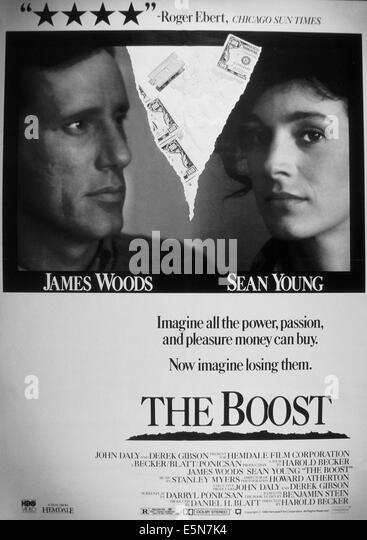 Schub, von links: James Woods, Sean Young, 1988, © MGM/Courtesy Everett Collection Stockbild