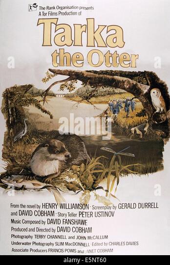 TARKA der OTTER, britische Plakat, 1979, © Rang/Courtesy Everett Collection Stockbild
