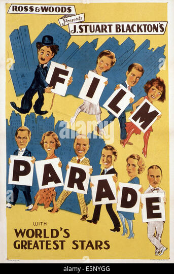 J. STUART BLACKTON FILM PARADE, ca. 1930 Stockbild