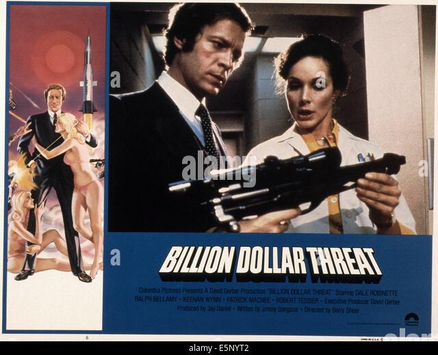 DIE Milliarden-Dollar-Bedrohung, Dale Robinette (links und Mitte links), 1979, © Columbia/Courtesy Everett Stockbild