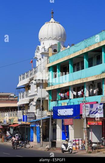 Sikh-Tempel in Portblair, Andamanen, Indien, Asien Stockbild