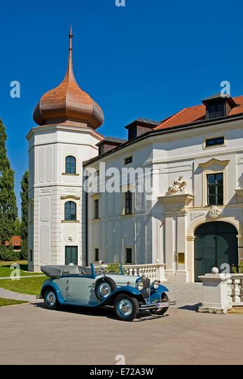 Steyr 30 s Cabriolet, Baujahr 1932 Stockbild