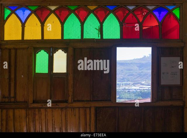 Arthur Rimbaud Haus, Harar, Äthiopien Stockbild