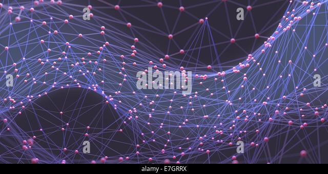 Zusammenfassung Hintergrund der Leitungen und Anschlüsse. Stockbild