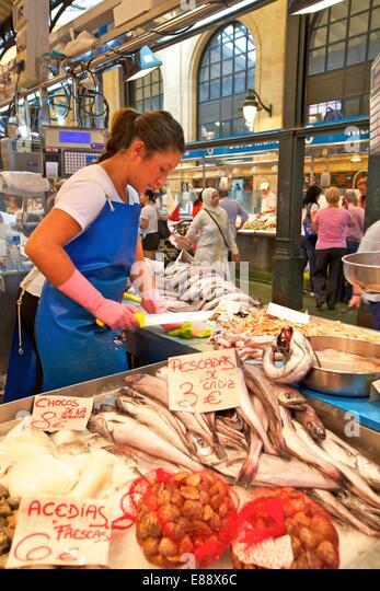 Markt, Jerez De La Frontera, Provinz Cadiz, Andalusien, Spanien, Europa Stockbild