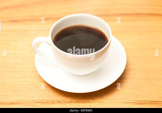Tasse Kaffee Americano Stockbild