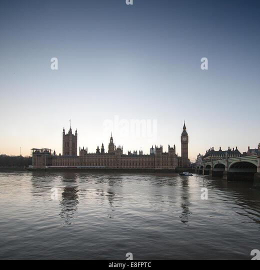 Vereinigtes Königreich, London, Houses of Parliament Stockbild