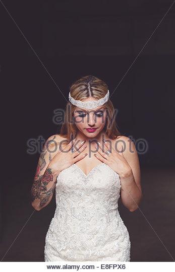 Bild der Braut Stockbild