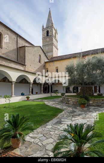 Dominikanerkloster, Taggia, Provinz Imperia, Ligurien, Italien Stockbild