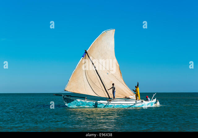 Antsanitia, Madagaskar Stockbild